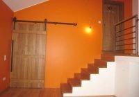 Schiebetür und Treppe