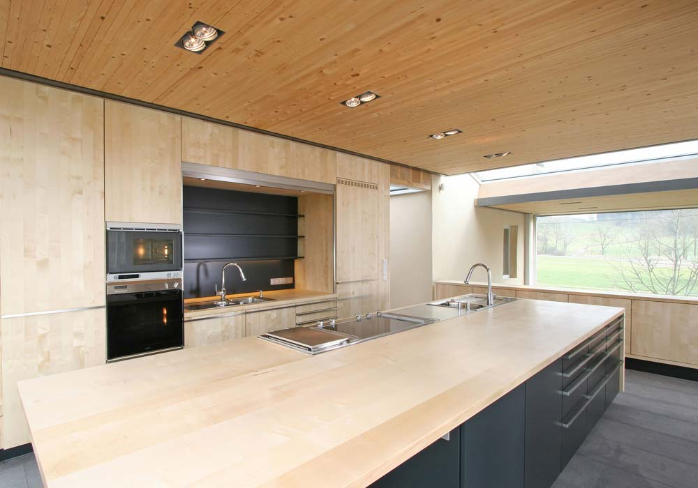 Küche aus Holz - Schreinerei INFORM