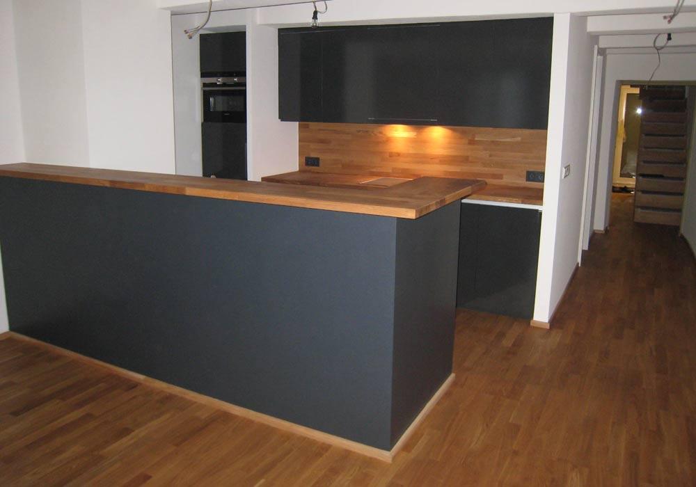 k chentheke schreinerei inform. Black Bedroom Furniture Sets. Home Design Ideas