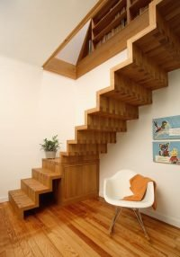 Treppe frei